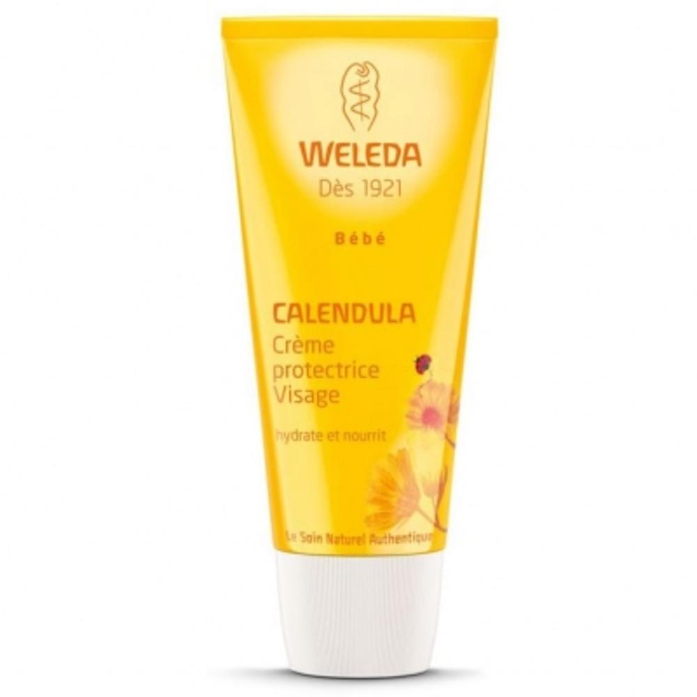 Weleda bébé calendula crème protectrice visage - 50ml - 30.0 ml - bébé - weleda Hydrate et nourrit-525