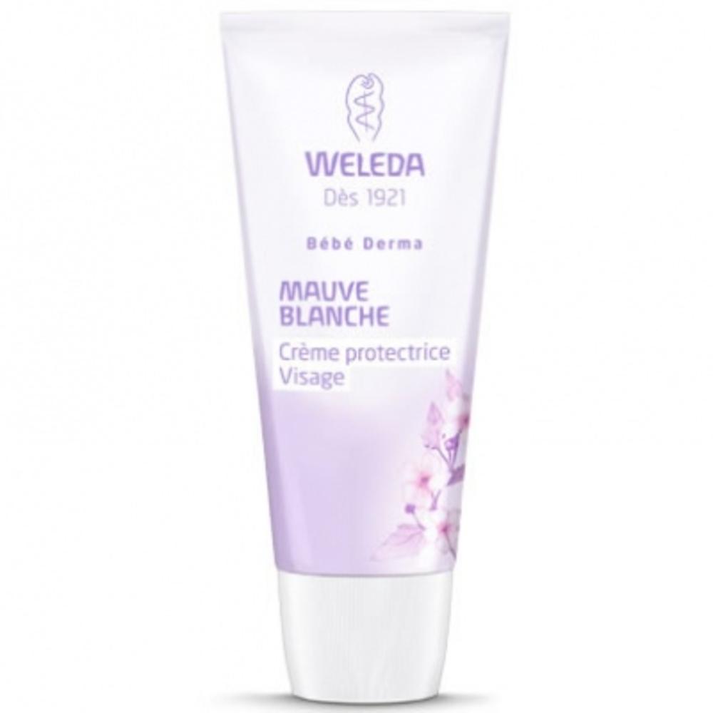WELEDA Bébé Derma Crème Visage Mauve Blanche - 50ml - 30.0 ml - bébé - Weleda Hydrate, nourrit et calme les irritations-189997