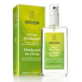 Weleda citrus déodorant 100ml - 100.0 ml - hygiène - weleda Note fraîche aux huiles essentielles naturelles-541