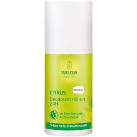 Weleda citrus déodorant roll-on 24h 50ml - weleda -212823