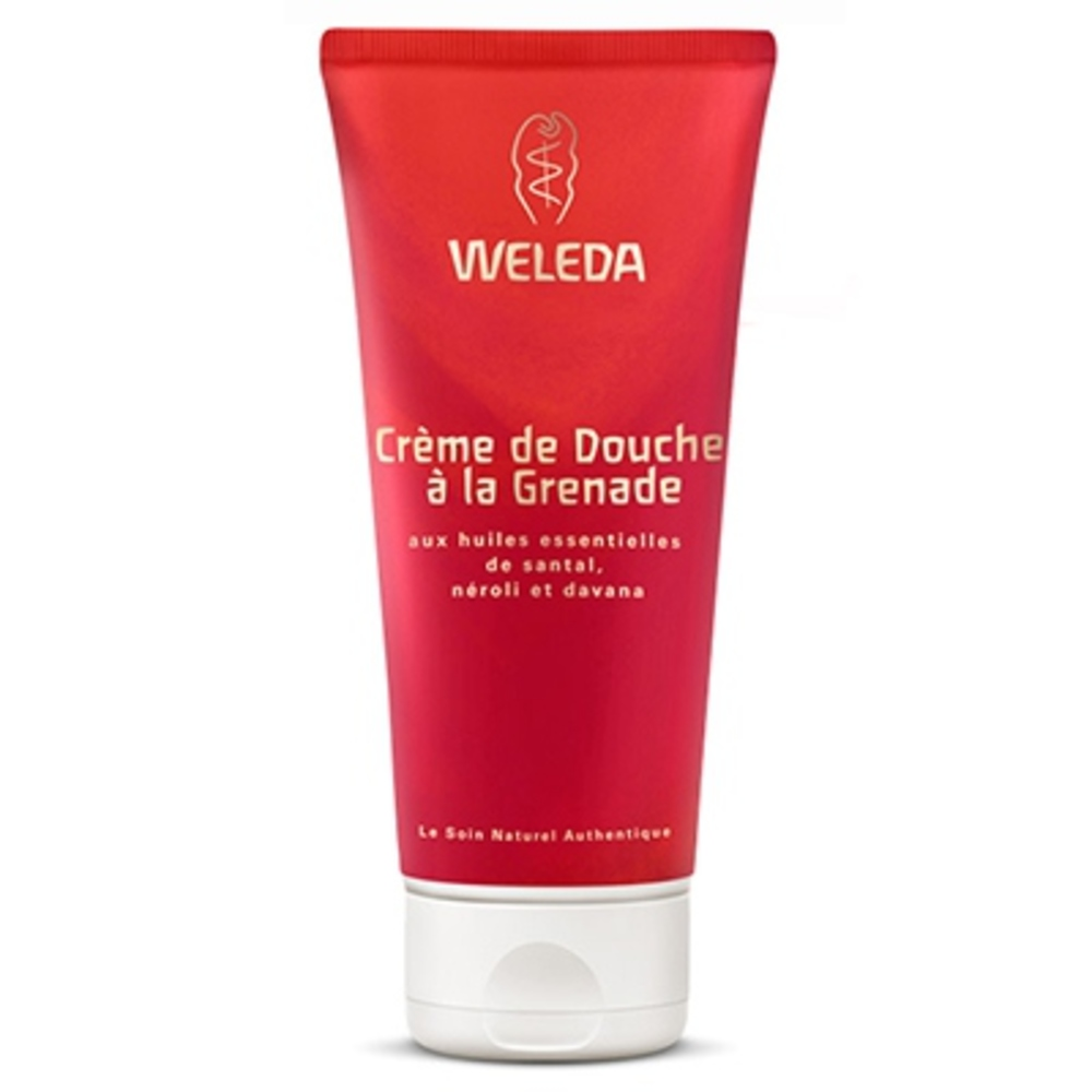 Weleda crème de douche à la grenade - 200.0 ml - hygiène - weleda Aux huiles essentielles de santal, néroli et davana-16930