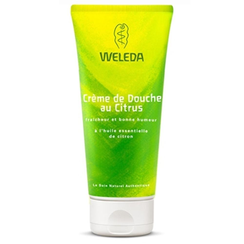 Weleda crème de douche citrus - 200.0 ml - hygiène - weleda Fraicheur et bonne humeur-4411