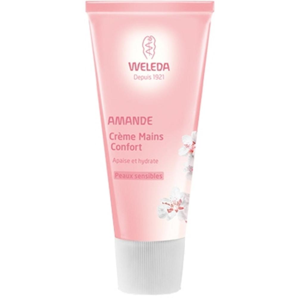 Weleda crème mains confort à l'amande - 50.0 ml - corps - weleda Apaise et hydrate-191523