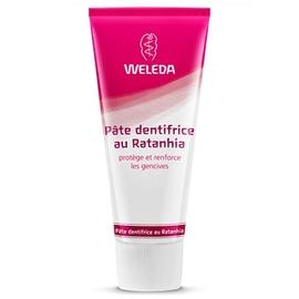Weleda dentifrice ratanhia - 75.0 ml - dentaires - weleda Protège et renforce les gencives-537
