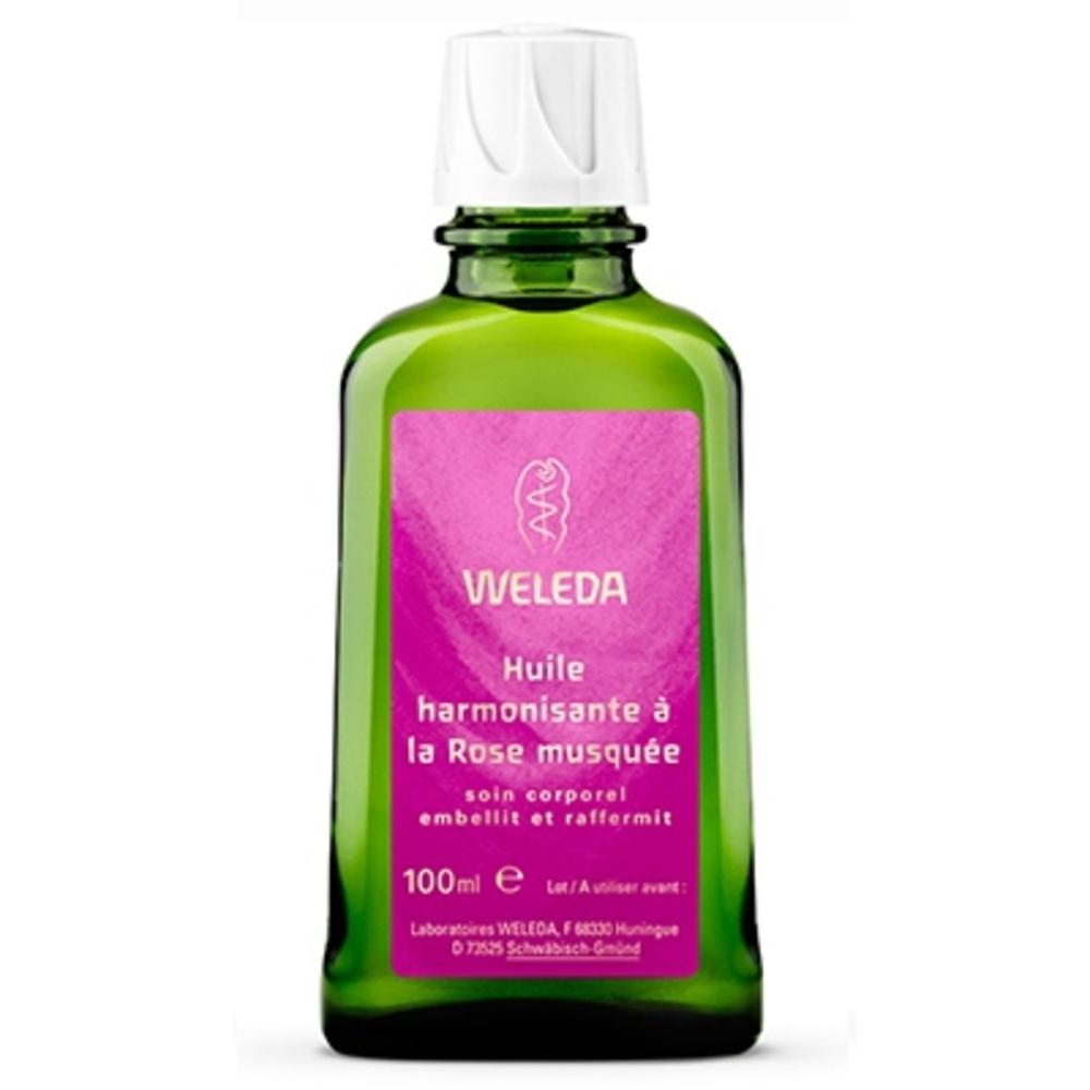 Weleda huile harmonisante rose - 100.0 ml - huiles - weleda Embellit et raffermit-521