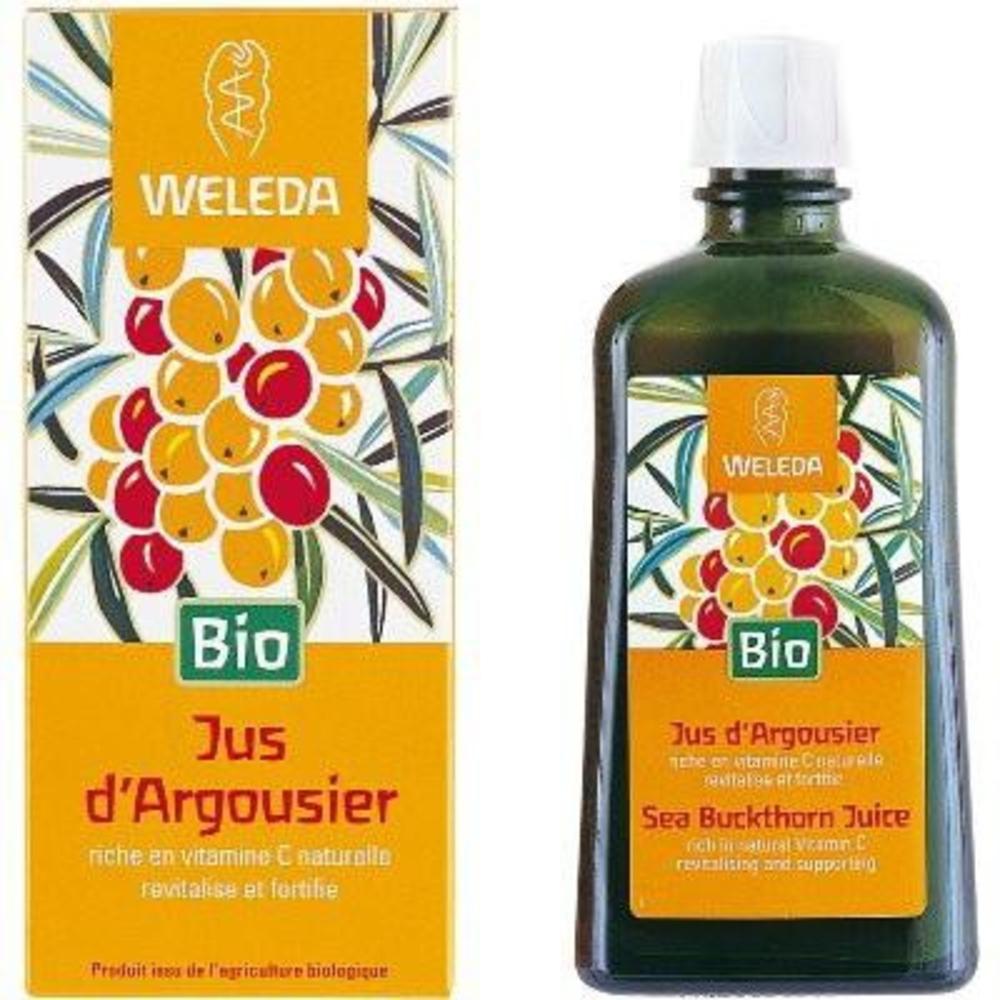 Weleda jus d'argousier - 200.0 ml - jus-sirops - weleda Revitalise et fortifie, riche en vitamine C naturelle-563