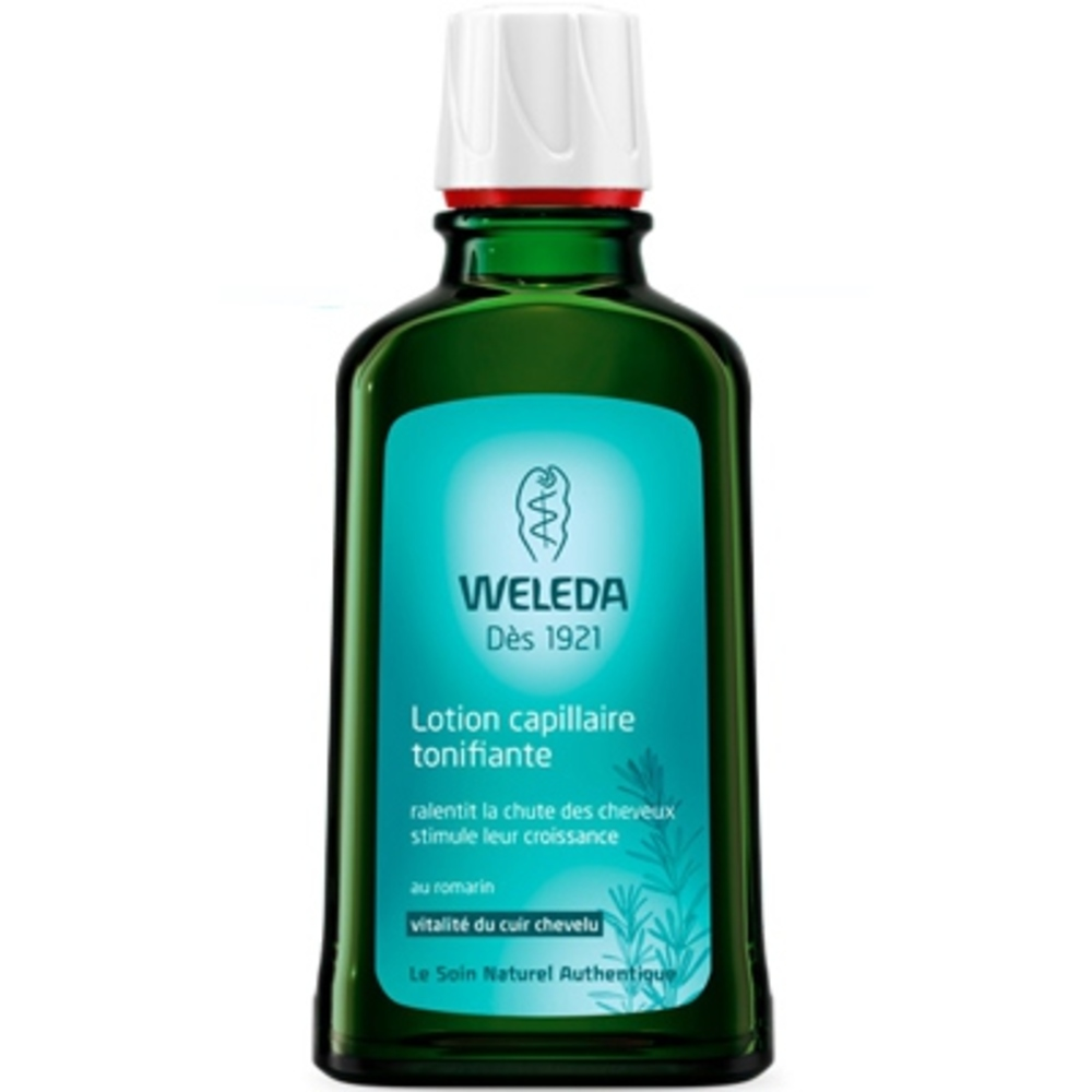 Weleda lotion capillaire tonifiante au romarin - 100.0 ml - capillaires - weleda Ralentit la chute des cheveux, stimule leur croissance-531
