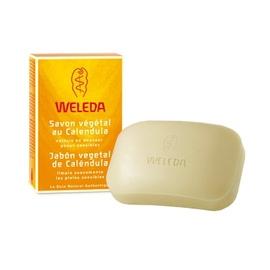Weleda savon végétal au calendula - 100.0 g - hygiène - weleda Nettoie en douceur - peaux sensibles-556