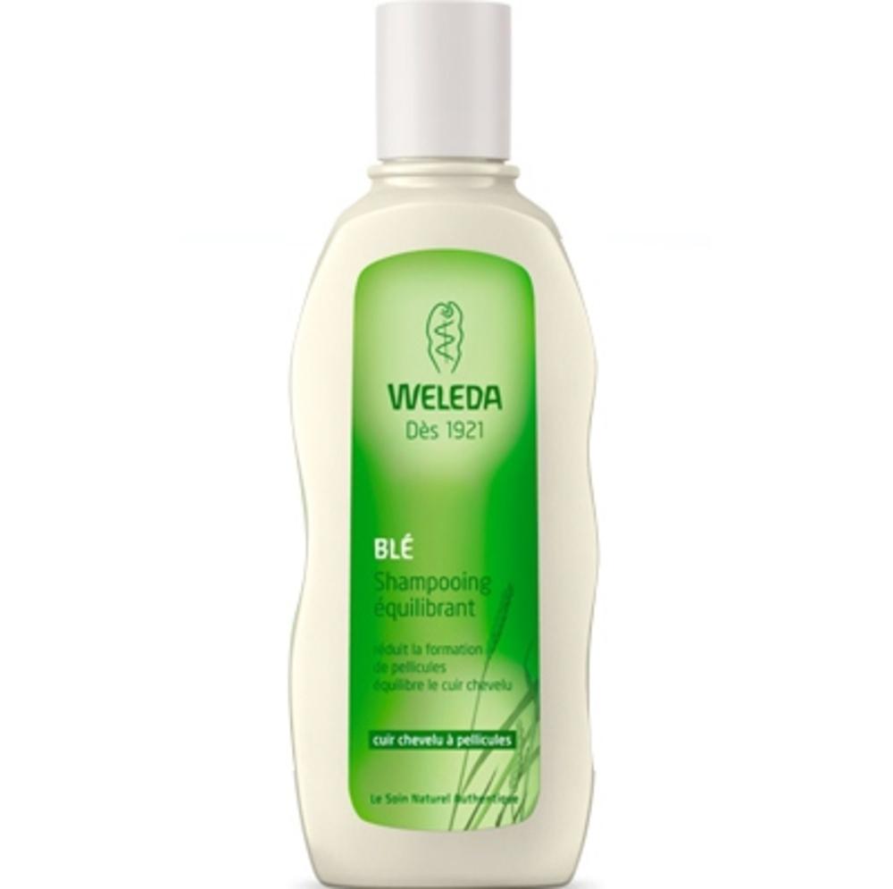 Weleda shampooing equilibrant au blé - 190.0 ml - capillaires - weleda Réduit la formation de pellicules, équilibre le cuir chevelu-140619