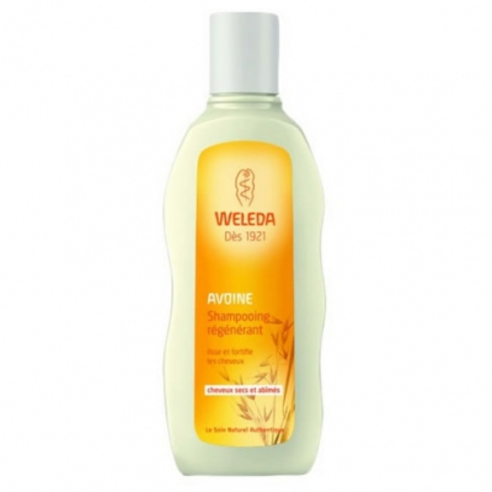 Weleda shampooing régénérant à l'avoine - 190.0 ml - capillaires - weleda Lisse et fortifie les cheveux-140618