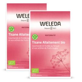 Weleda tisane d'allaitement fruits rouges - 20 sachets - weleda -210946