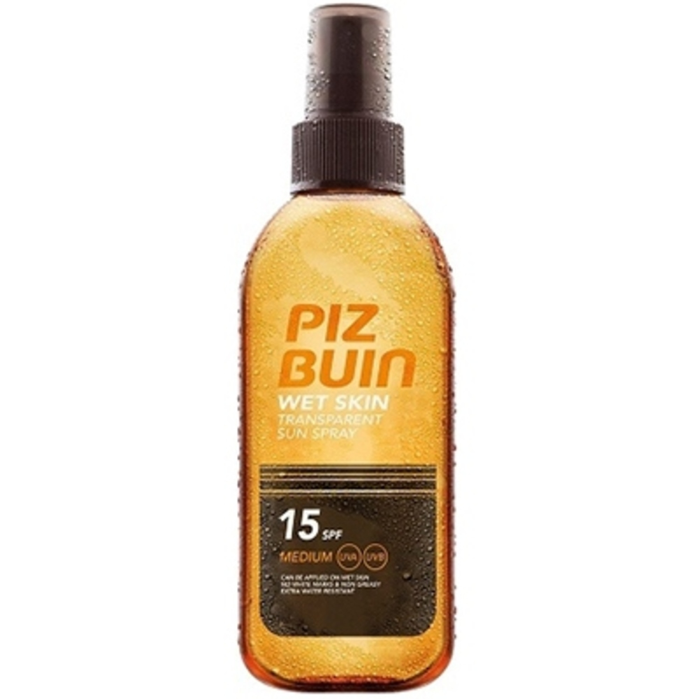 Wet skin transparent spf15 - 150 ml - piz buin -198120