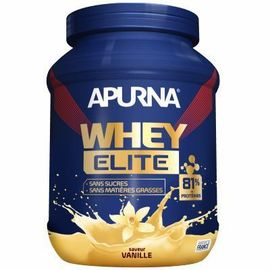 Whey elite isolat saveur vanille pot 750g - apurna -216646