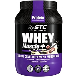 Whey muscle+ vanille - stc nutrition -204800