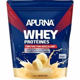 Whey protéines saveur banane dyopack 750g - apurna -216647
