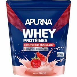 Whey protéines saveur fraise dyopack 750g - apurna -216651