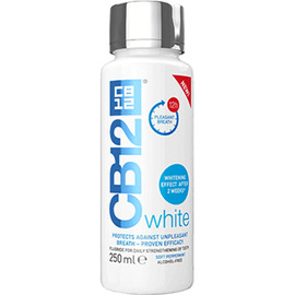 White bain de bouche 250ml - cb12 -213201