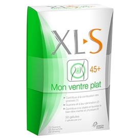 Xls 45+ mon ventre plat - 30.0 unites - minceur - xls médical -140733