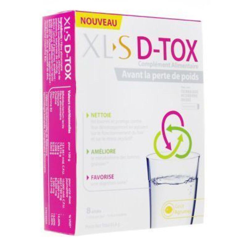 Xls d-tox 8 sachets - xls -220579