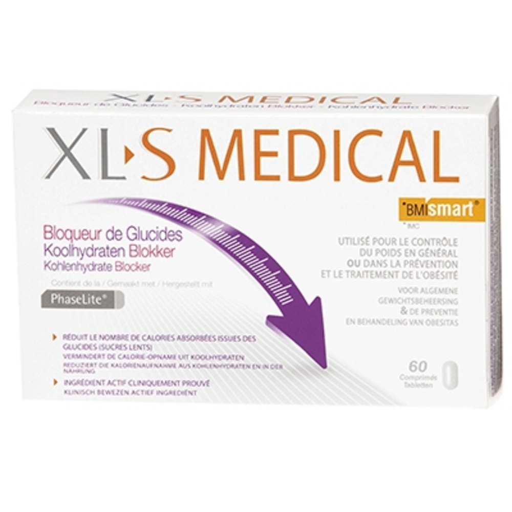 Xls medical bloqueur de de glucides 60 comprimés - 60.0 unites - omega pharma -119892