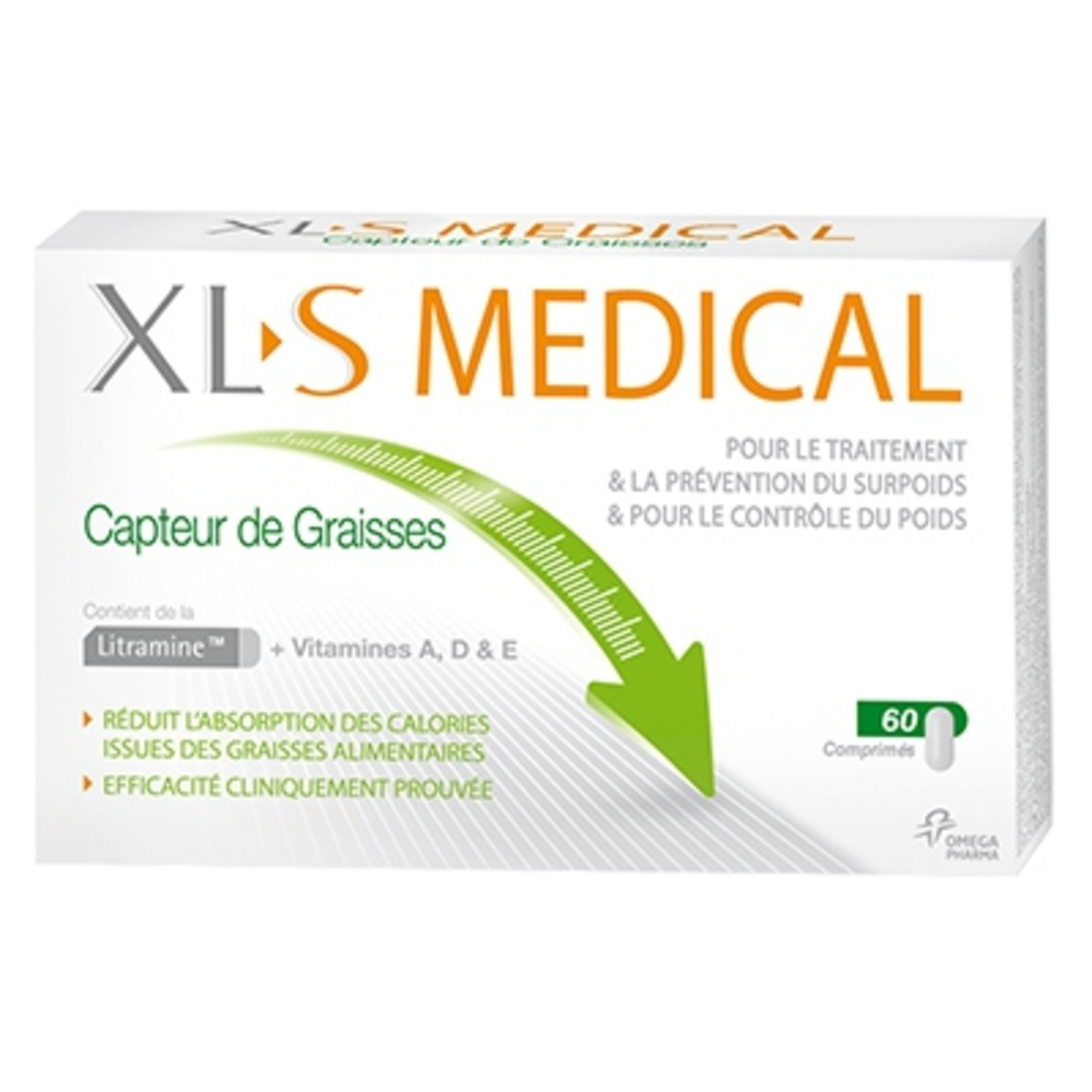 Xls medical capteur de graisses - 60.0 unites - omega pharma -119891