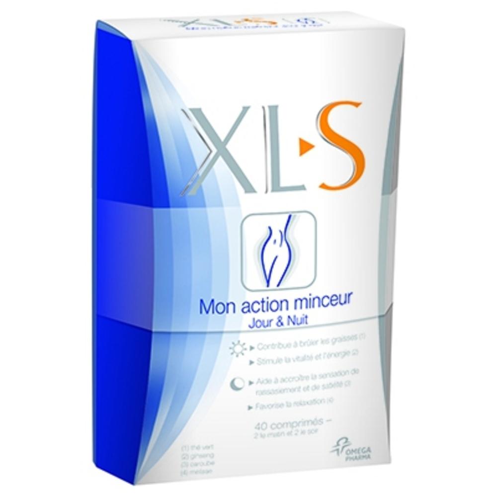 XLS Mon Action Minceur Jour & Nuit - 40.0 unites - Minceur - Xls -140730