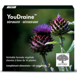 Youdraine - 60 comprimés - new nordic -199178
