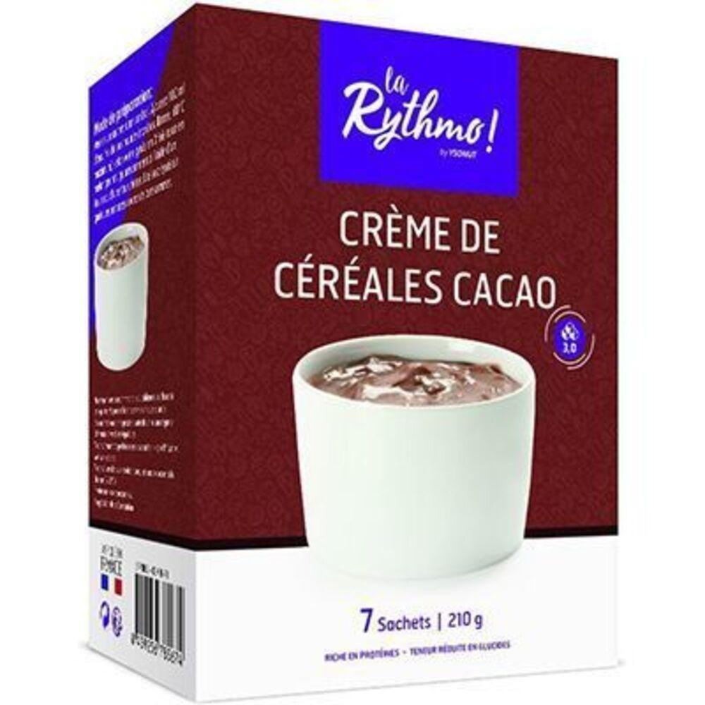 Ysonut la rythmo crème de céréales cacao 7 sachets - ysonut -221728