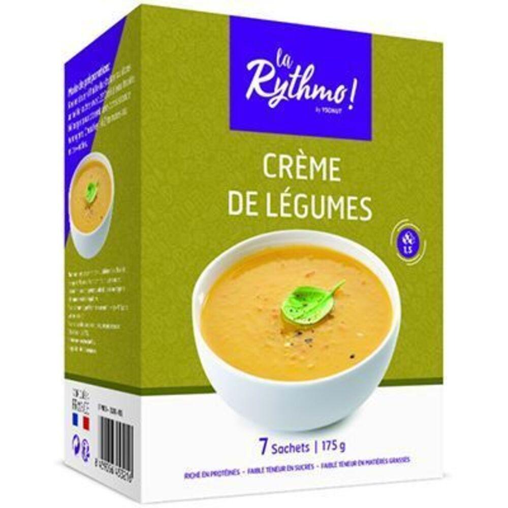 Ysonut la rythmo crème de légumes 7 sachets - ysonut -223891