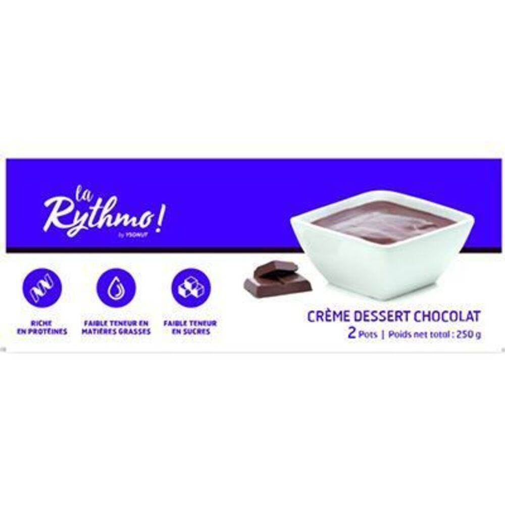 Ysonut la rythmo crème dessert chocolat 2 pots - ysonut -221745