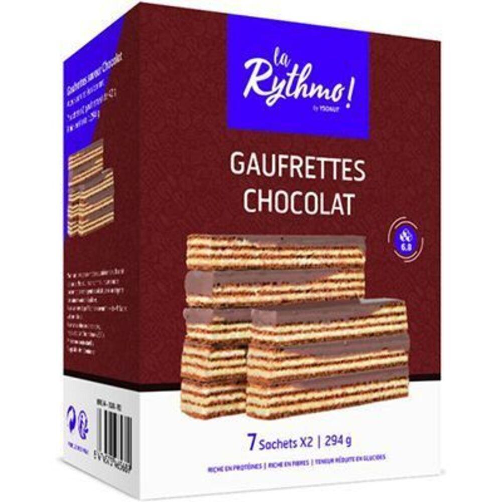 Ysonut la rythmo gaufrettes chocolat 7 sachets x2 - ysonut -221748
