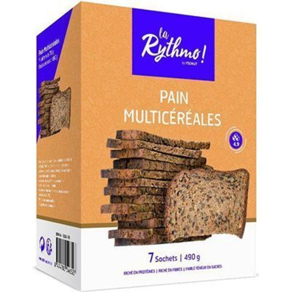 Ysonut la rythmo pain multicéréales 7 sachets - ysonut -221724