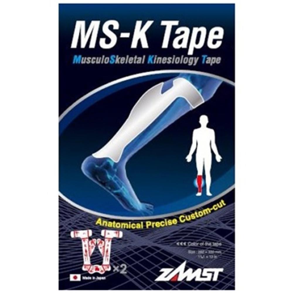Zamst ms-k-tape soutien musculaire mollet - 2 tapes - zamst -206654