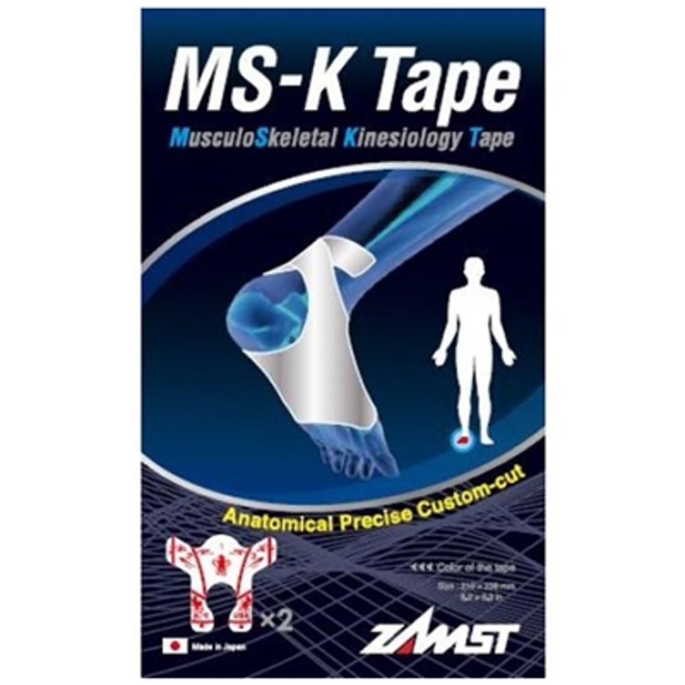 Zamst ms-k tape soutien musculaire pied - 2 tapes - zamst -210893
