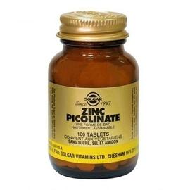 Zinc picolinate 100 tablets - 100.0 unites - minéraux - solgar -140969