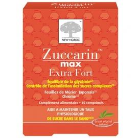 Zuccarin max extra fort - 45 comprimés - new nordic -199805